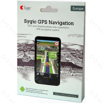 Sygic GPS Navigation Europe pre Android