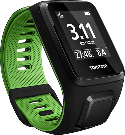 TomTom Runner 3 Cardio+ Music Black/Green
