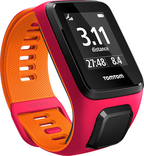TomTom Runner 3 Cardio+ Music Pink/Orange
