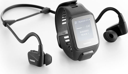 TomTom Spark 3 Cardio+ Music+ Headphones Black