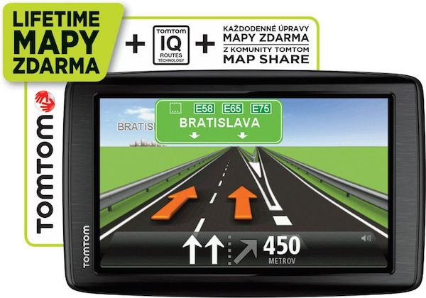 Obrázok produktu TomTom Start 25 Europe Traffic Lifetime