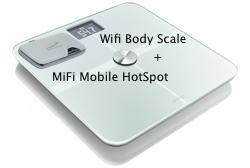 Obrázok produktu Osobná váha - Wifi Body Scale + MiFi Mobile Hotspot